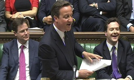 David Cameron says calm down dear