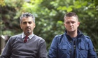 Maajid Nawaz and Tommy Robinson