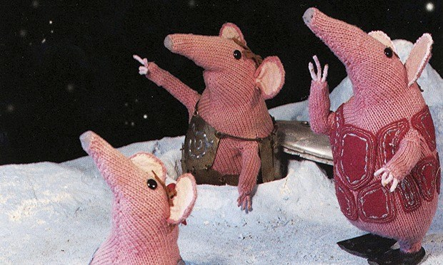 so the bbc wants to revive the clangers what pla  are they on