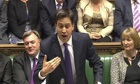 Ed Miliband speaks during Prime Minister's Questions October 2013