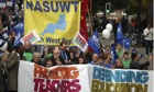 Teachers' strike: NASUWT claims success as hundreds of schools close
