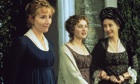 Emma Thompson, Kate Winslet and Gemma Jones in Thompson's screen adaptation of Sense and Sensibility
