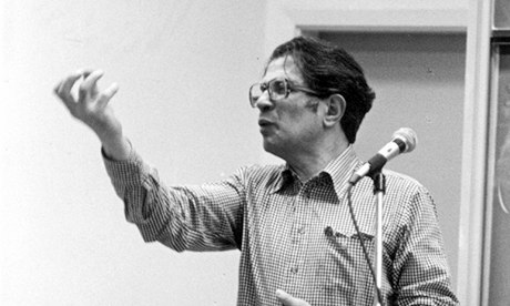 Ralph Miliband lecturing in Canada in 1978.