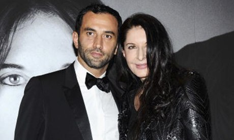 Marina Abramovic with Riccardo Tisci