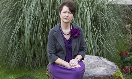 Julie Bailey, the whistleblower who exposed the neglect at Stafford hospital.