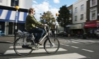E-bike trial in north London