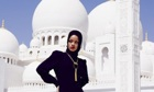 Rihanna outside mosque