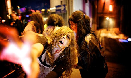 Halloween: Zombies on the loose at Fright Night in Sheffield