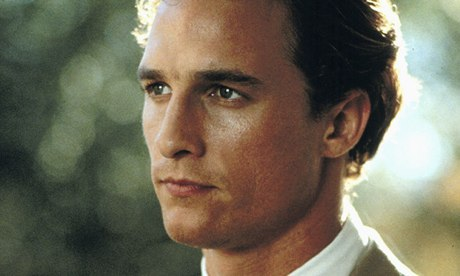 Matthew McConaughey as Jack Brigance in the film of A Time to Kill