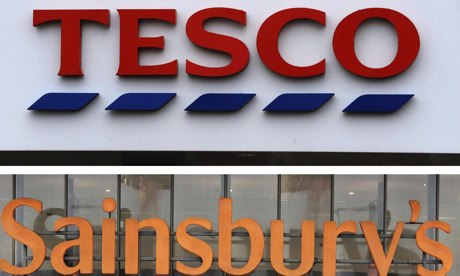 tesco benchmark against sainsbury Bid to benchmark prices against high street rivals asda, lidl and aldi  uk big  four supermarkets - asda, sainsburys, tesco and morrison's.
