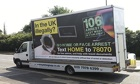 Home Office 'Go Home' van