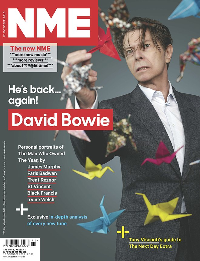 Nme S David Bowie Front Cover Is A Sign Of A Rock N Roll