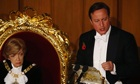 British Prime Minister David Cameron speech at Lord Mayors Banquet
