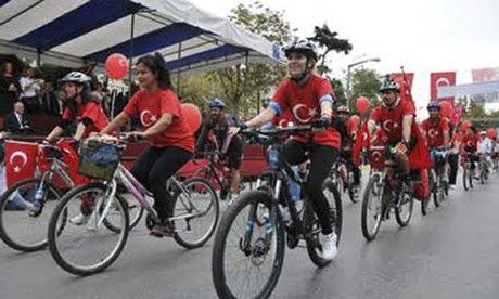Turkish cyclists