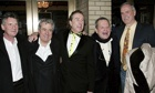 Monty Python Michael Palin, Terry Jones, Eric Idle, Terry Gilliam and John Cleese