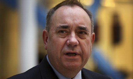 Alex Salmond close up