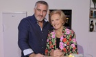 Paul Hollywood and Mary Berry of the hugely popular The Great British Bake Off.