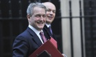 Environment secretary Owen Paterson arrives at No10 Downing Street