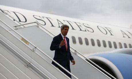 John Kerry arrives in Geneva for Iran nuclear talks