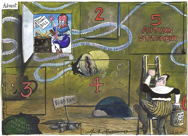 Martin Rowson cartoon 2.12.2013