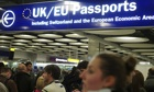 David Davis said the government would not be able to stem an expected increase in immigration in Jan