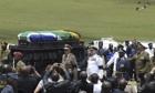 Nelson Mandela funeral procession