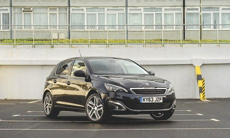 on the road peugeot 308 feline e hdi 115 technology the guardian. Black Bedroom Furniture Sets. Home Design Ideas