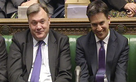 David Cameron calls Ed Balls a 'turkey' over anonymous Labour briefings...