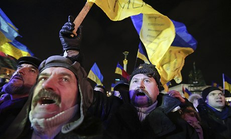 Ukraine protests: it is time to go, opposition leaders ...