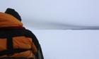 Stuck in the ice in Antarctica