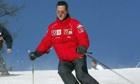 Michael Schumacher skiing