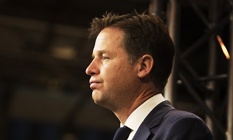 """Nick Clegg, the deputy prime minister, will focus on """"steadiness and consistency rather than rhetori"""
