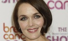 Victoria Pendleton ia taking part in BBC2's The Great Sport Relief Bake Off.