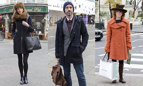 Street style: winter coats - in pictures