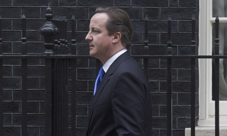 Cameron has said that he want the cost of politics to fall.