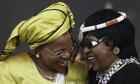 Graça Machel and Winnie Madikizela-Mandela