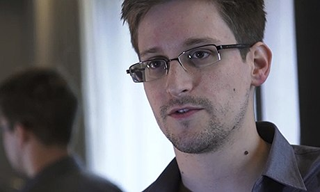 Edward Snowden voted Guardian person of the year 2013...