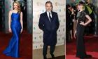 Baftas 2013: red carpet composite