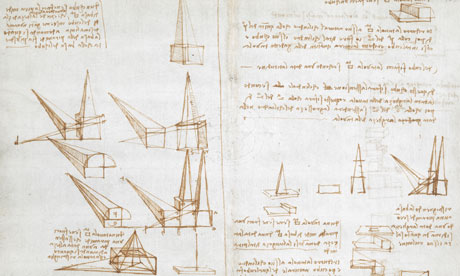 Leonardo da Vinci's notebook, British Library