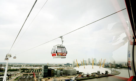 Emirates Air Line … the UK's first ever urban cable