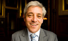 John Bercow, pictured in