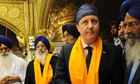 Cameron visit to India 