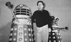 Raymond Cusick with two Daleks in 1964