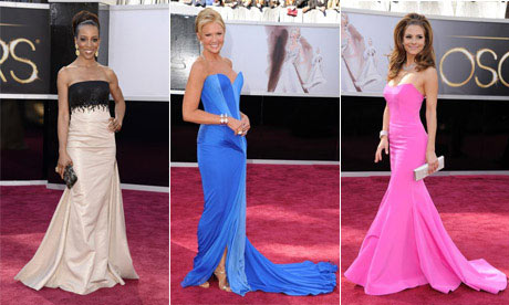 Shaun Robinson, Nancy O'Dell and Maria Menounos: oscars 2013
