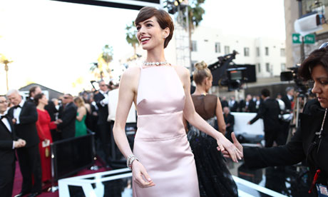 Anne Hathaway: 85th Annual Academy Awards - Red Carpet