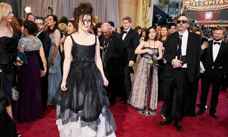 Helena Bonham Carter and Tim Burton,