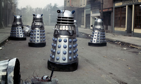 Daleks from a Doctor Who episode