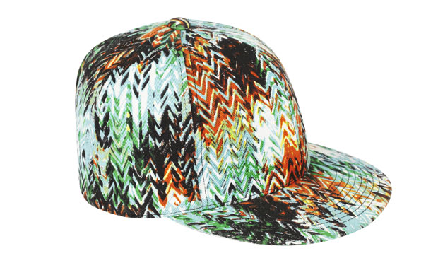 Zig-Zag baseball cap