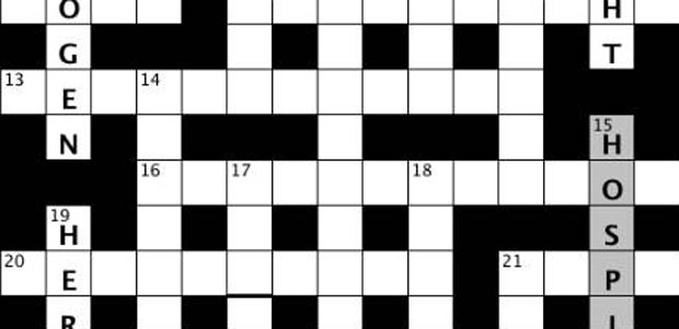 Crossword grid