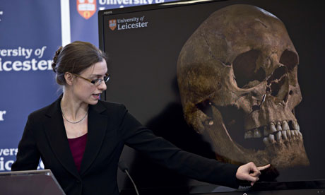 Discovery of Richard III's remains